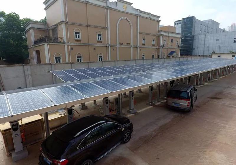 太阳能光伏充电桩