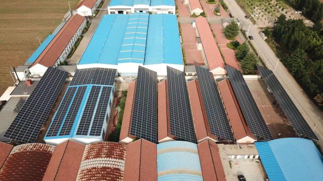 莱州三王粉末冶金有限公司1200KW光伏发电项目
